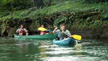 Tour river Costa Rica