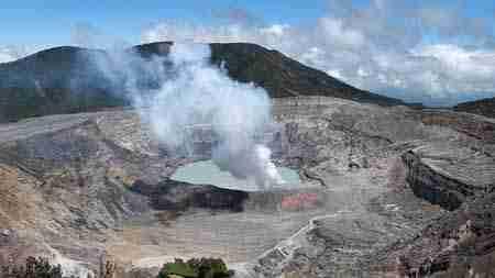Vulkan Poas, Zentraltal Costa Rica