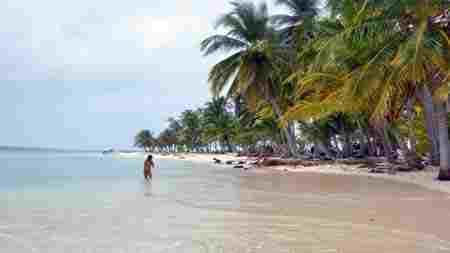 strand in san blas
