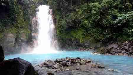 Rio Celeste Vulkan tenorio