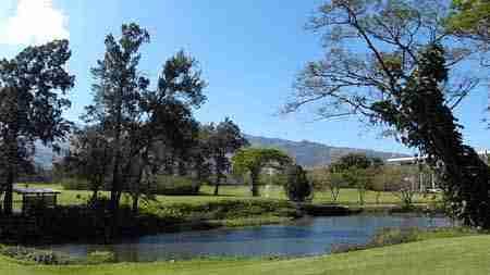 Golfplatz bei Santa Ana
